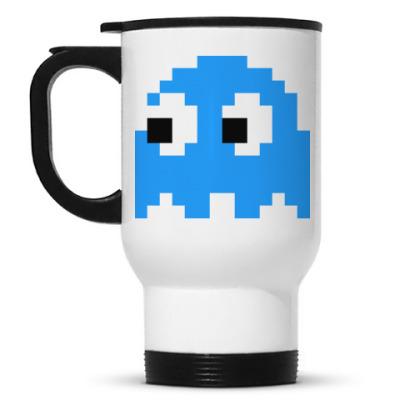 Кружка-термос  Pacman Inky