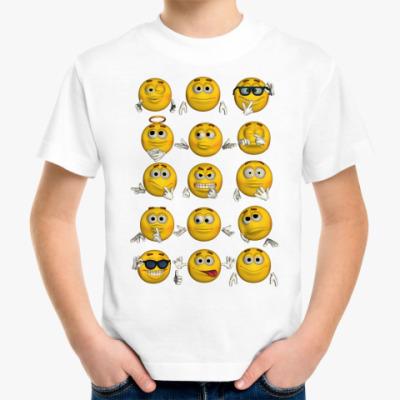 Детская футболка Смайлики