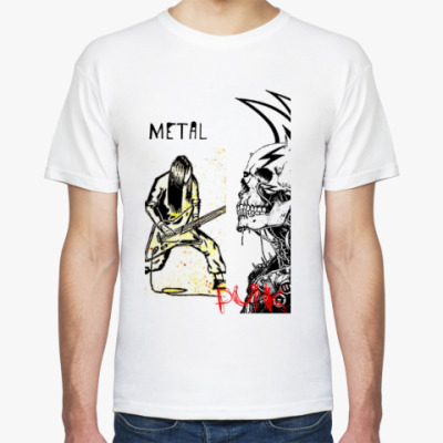 Футболка Metal and punk