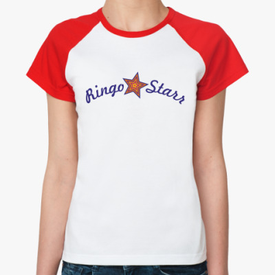 Женская футболка реглан Ringo Starr
