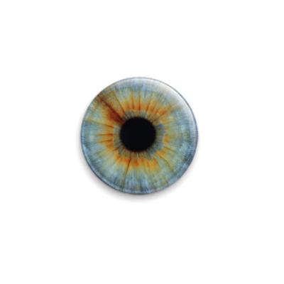 Значок 25мм eye