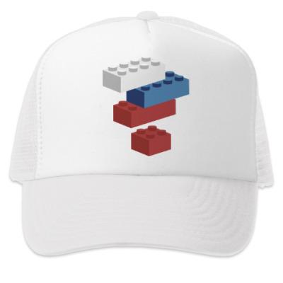 Кепка-тракер Россия Собери Лего