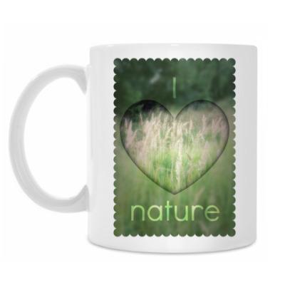 Кружка 'I Heart Nature'