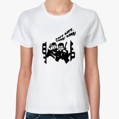 Классическая футболка Kiss kiss!
