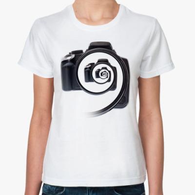 Классическая футболка Бесконечный фотоаппарат