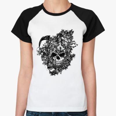 Женская футболка реглан Defeated  Ж()
