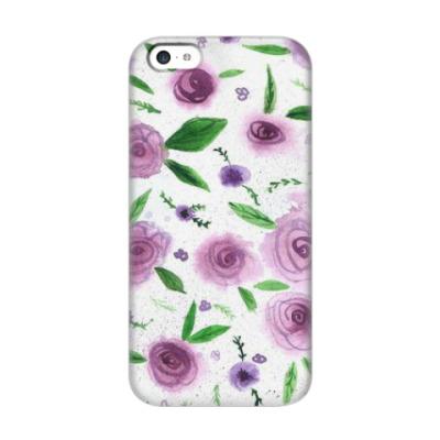 Чехол для iPhone 5c Розы