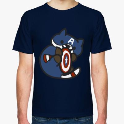 Футболка кот америка