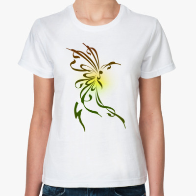 Классическая футболка 'Бабочка'