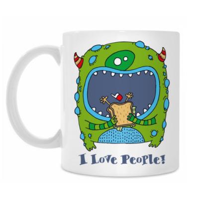 Кружка 'I Love People!'