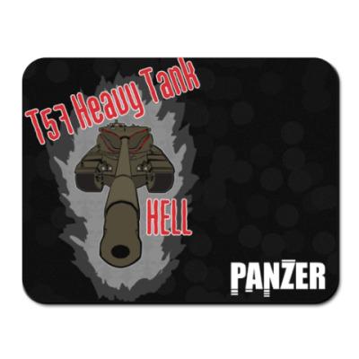 Коврик для мыши T57 Heavy Tank HELL
