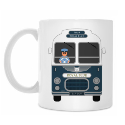 Кружка Royal Blue Coach