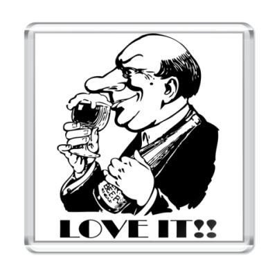 Магнит Beer - Love it!