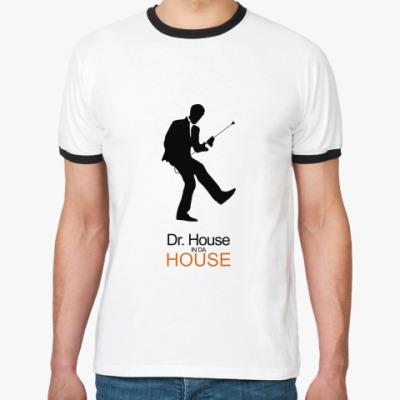 Футболка Ringer-T House MD