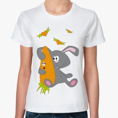 Классическая футболка   Love Carrot
