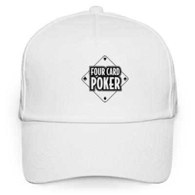 Кепка бейсболка Four Card Poker