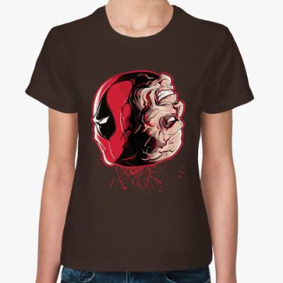 Женская футболка Дэдпул - Уилсон