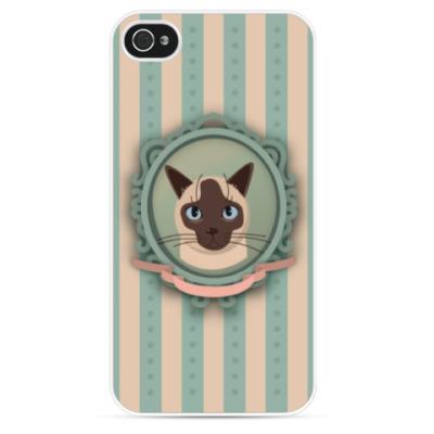 Чехол для iPhone Сиамский кот