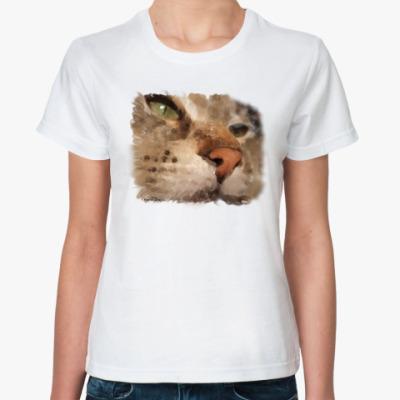 Классическая футболка Котяра