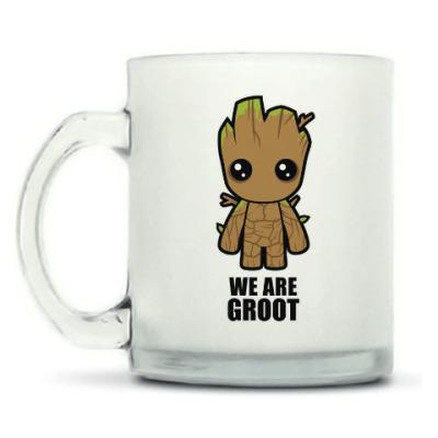 Кружка матовая We are Groot