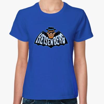 Женская футболка Heisenberg Batman