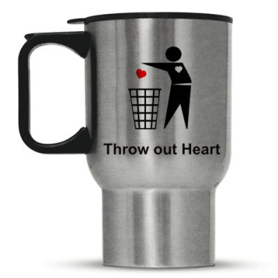 Кружка-термос Throw out Heart