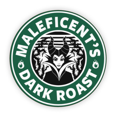 Костер (подставка под кружку) Maleficents Dark Roast