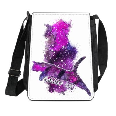 Сумка-планшет Галактический кот