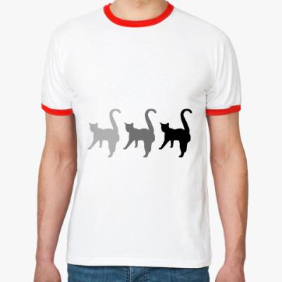 Футболка Ringer-T Три кота