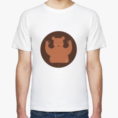 Футболка Animal Zen: B is for Bear