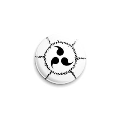 Значок 25мм Sasuke seal