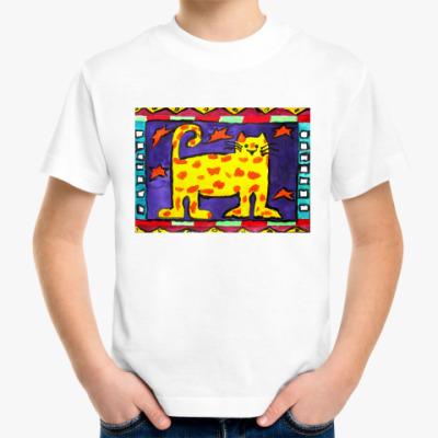 Детская футболка Веселый кот