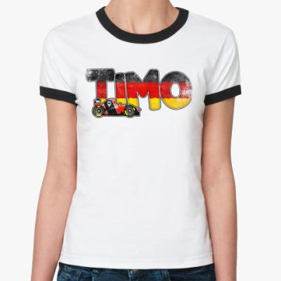 Женская футболка Ringer-T TIMO
