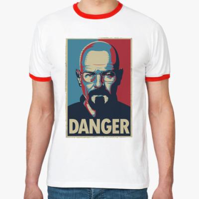 Футболка Ringer-T Walter danger
