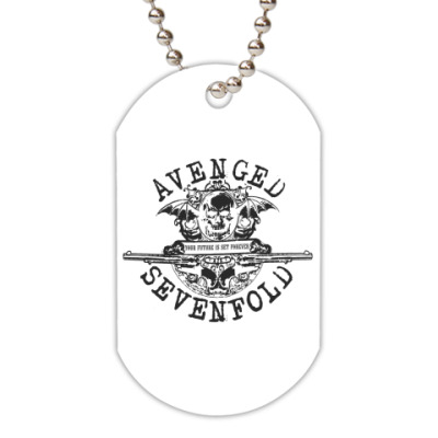 Жетон dog-tag  Avenged Sevenfold