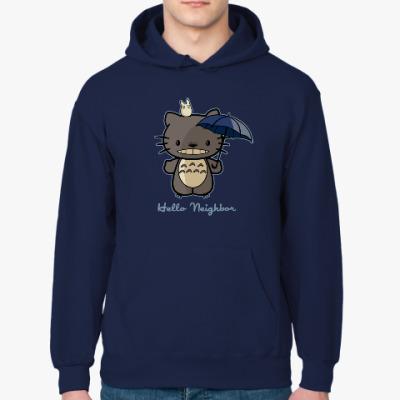 Толстовка худи Hello Totoro
