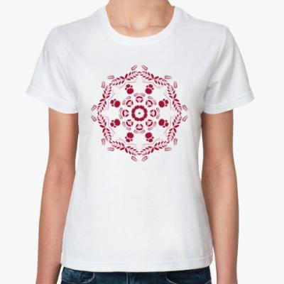 Классическая футболка Круговой орнамент