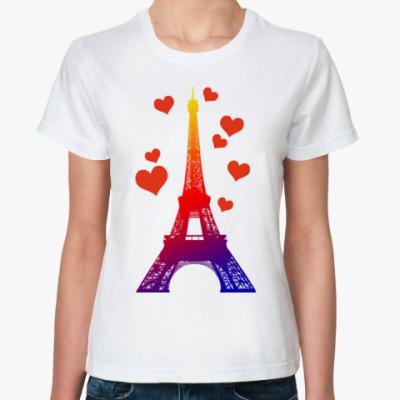 Классическая футболка В ПАРИЖ