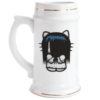 Пивная кружка Китти Звонок