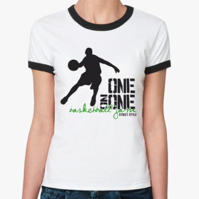 Женская футболка Ringer-T   StreetBall