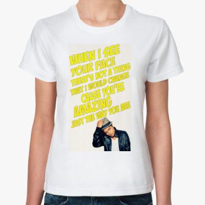 Классическая футболка Bruno Mars