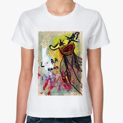 Классическая футболка Лора