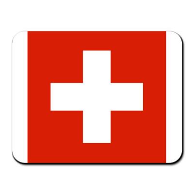 Коврик для мыши Швейцария