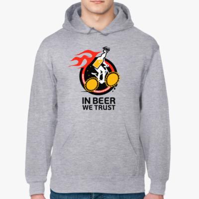 Толстовка худи In beer we trust