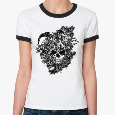 Женская футболка Ringer-T Defeated  Ж ()