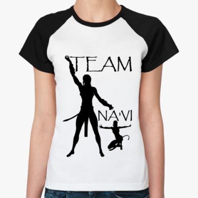 Женская футболка реглан Team Na'vi