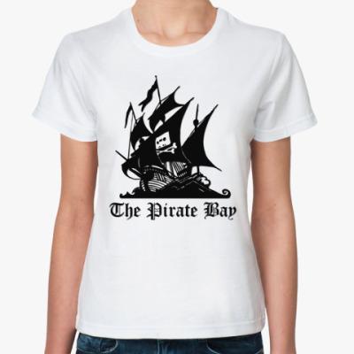 Классическая футболка Pirate Bay