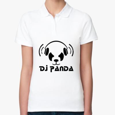 Женская рубашка поло Panda