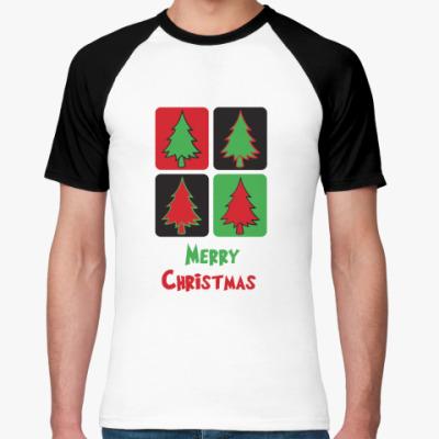 Футболка реглан  Christmas