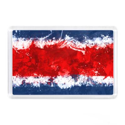Магнит Коста-Рика, флаг